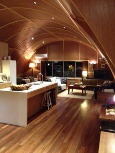 Yarraville VIC Nissen Hut, by Livingstone Clark Design : Our House!