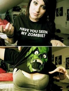 Have you seen her zombie? | Gospic - Pictures images and photos of all kind