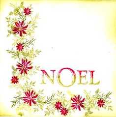 Rubber Stamp Tapestry - Noel Set