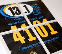 Awesome. Great way to save your race bibs!