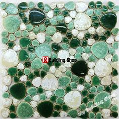 Porcelain Tile Flooring Ceramic Mosaic Shower Pebble Tiles Kitchen Backsplash Ideas Swimming Pool Free Shipping Whole In Mosaics From Home