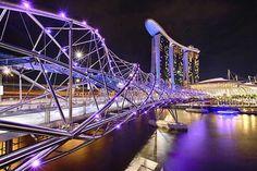 Ponte Hélix, Marina Bay, Singapore