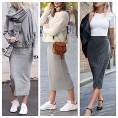 Smart Casual Outfit, Casual Outfits, Style Smart Casual, Pretty Outfits, Fall Outfits, Pencil Skirt Outfits, Street Outfit, Autumn Fashion, Fashion Dresses