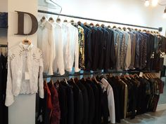 Shop #Menswear at our new location. Everything made right here in shop! #NicoDidonna #atelier