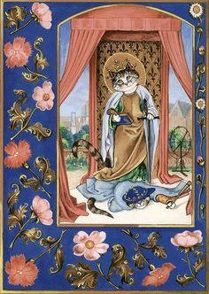Susan Herbert. Medieval Cats