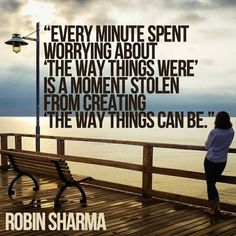 every minute spent about worrying robin sharma picture quote More