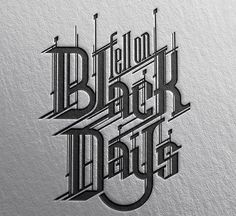 Guido Vitabile - Black Days - Soundgarden - graphic design - #masonry #massoneriacreativa #brotherhood - www.massoneriacreativa.com