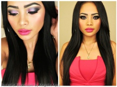 Added By Angelie Apas. Valentines day makeup @bloomdotcom