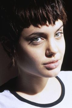 """Kate """"Acid Burn"""" Libby, el personaje de Jolie en """"Hackers"""". Uno de mis mitos eróticos de la adolescencia ;)"""