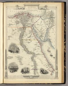 Old Maps- Egypt