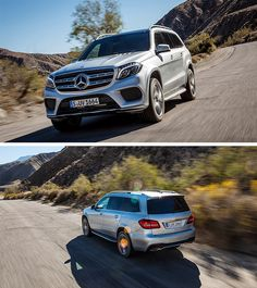 Impressive in all discipline: get ready for a first-class road trip with the Mercedes-Benz GLS!