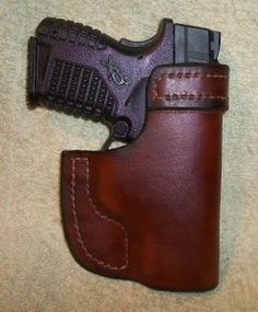 clipon OWB XDS.adj1 Xds 45 Holster, Leather Projects, Leather Working, Hand Guns, Jackson, Firearms, Pistols, Jackson Family