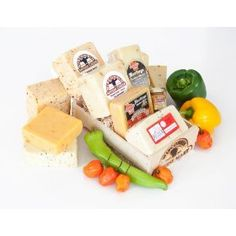 Hot and Spicy Cheese Gift Basket by Wisconsin Cheese Mart $43.00