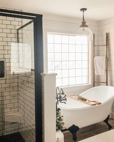 Beautiful master bathroom decor a few ideas. Modern Farmhouse, Rustic Modern, Classic, light and airy master bathroom design some ideas. Bathroom makeover ideas and master bathroom remodel suggestions. Bad Inspiration, Bathroom Inspiration, Bathroom Interior Design, Home Interior, Bathroom Designs, Restroom Design, Restroom Decoration, Restroom Ideas, Interior Plants