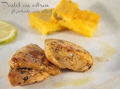 poulet citron polenta