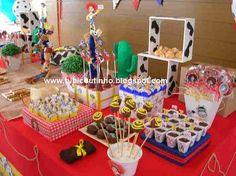 Toy Story birthday party by Bibi Coutinho