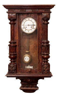 antique chiming clock....
