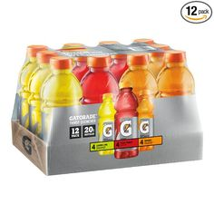 Amazon:+12+Pack+Of+Gatorade+Original+Thirst+Quencher+Variety+Pack,+20+Ounce+Bottles+$7.35+Shipped