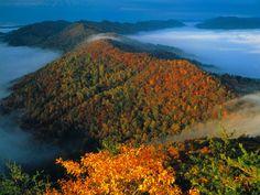 14 Kentucky Day Trips - pic is Cumberland Gap Cumberland Gap, Wilderness Trail, My Old Kentucky Home, Ohio River, Appalachian Mountains, Hd 1080p, Day Trips, Beautiful Places, Beautiful Scenery