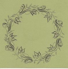 A Place To Flourish: Flourish Friday - September 18 - using Beautiful Lettering Flourishes by Jane Farr