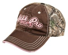 Bass Pro Shops® Frayed Cap for Ladies   Bass Pro Shops #mothersdaygifts #womenscamo #camohat  #womenshuntinggear