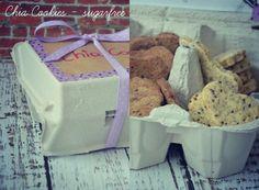 Zuckerfreie Chia Cookies