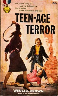 (via Teen-Age Terror | Pulp Covers)