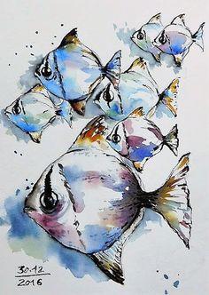 BB-Aquarelle: Aquarelles / Watercolors