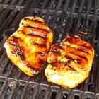 Honey Grilled Chicken. only takes butter, garlic, honey, lemon juice, and chicken breast.