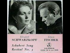 Schwarzkopf / Fischer: Die Junge Nonne, D. 828 (Schubert)