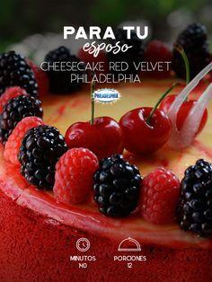 Conquístalo Cheesecake red velvet