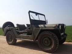 That's it: A 1969 Ford M151 A1 Mutt and it is uncut - and older than me :) This is how he looked when we met each other.