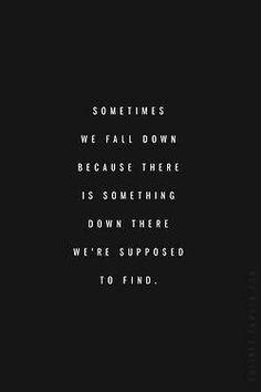 Sometimes we fall