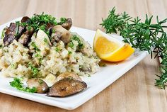 Oozy Mushroom Risotto – a Jamie Oliver 30-Minute Meal