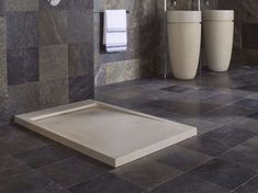 Rectangular natural stone shower tray ESSENCE - L'Antic Colonial BUT IN WHITE Porcelanosa