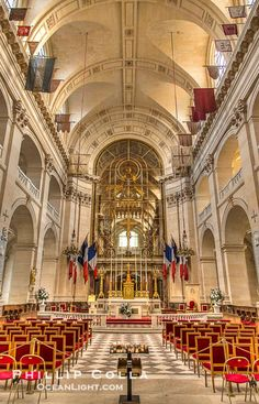 Les Invalides, officially known as L'Hotel national des Invalides (The National Residence of the Invalids),  Paris, France,