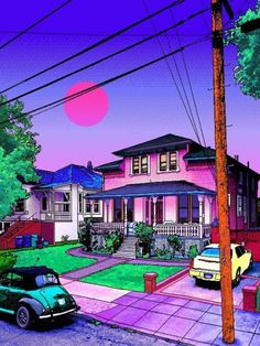 Vaporwave or Aesthetic, and why? Let me know in the comments section! Vaporwave Wallpaper, Aesthetic Backgrounds, Aesthetic Wallpapers, Vaporwave Art, Neon Aesthetic, Sense Of Place, Psychedelic Art, 8 Bit, Pixel Art