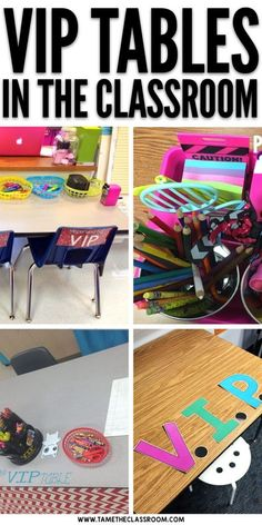 VIP tables can be done in so many ways, but the idea is that you recognize a student who has displayed positive behavior by seating them at special desk area in your classroom. Here are a few inspiring VIP tables for the classroom. #behaviormanagement #classroommanagement #viptable #viptables #vipdesk #vipdesks #classroomideas