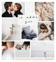 """So in Love"" by catchsomeraes ❤ liked on Polyvore featuring art, love, romantic, Collage and artset"