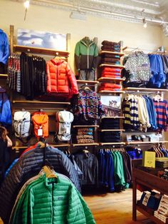 Patagonia store in Denver.