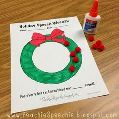 Getting Crafty for Christmas in Speech | PediaStaff Pediatric SLP, OT and PT Blog