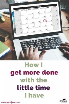 New teachers are so overwhelmed with everything they have to do. Here's how to get more done during your school day so you can spend less time working at home. new teacher Teaching Philosophy, Philosophy Of Education, Teaching Methods, Teaching Strategies, Teaching Resources, Learning Log, Teacher Evaluation, First Year Teaching, Professional Development For Teachers