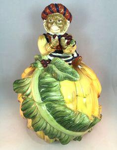 Vintage Kaldun & Bogle Zanzibar Monkey Cookie Jar RARE #KaldunBogle