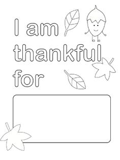 Thanksgiving Printable Coloring Pages 2014