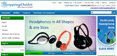ShoppingOutlet.in, is one of India's best technology and digital lifestyle shopping portal. Providing a simulating online shopping experience, it offers the latest range of gadgets and electronic products at most competitive prices. ShoppingOutlet.in carries over 500 products and the list is constantly being revised.    http://on.fb.me/T3G3nK