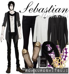 Kuroshitsuji Fashion » Sebastian Michaelis » Season 2 OVA [x] In honor of my new background, I thought I'd also put together a set for...
