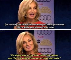 Jessica Lange, I'm still in love with you over here.