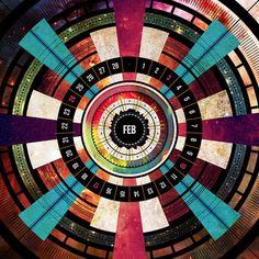 Jorge Fuentes: Cosmos MMXIII Calendar