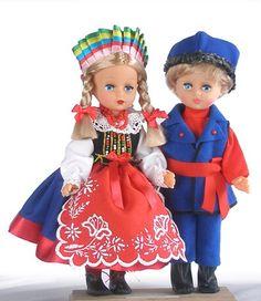 Polish Folk Art, Folk Fashion, My Heritage, American Girl, Harajuku, Kaftan, Barbie, Costumes, Dolls