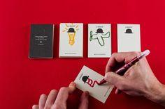6HATS - Business Card Design Inspiration | Card Nerd